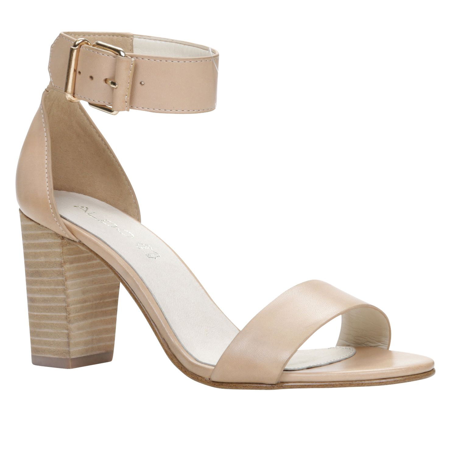 Pekny block heel ankle strap sandals