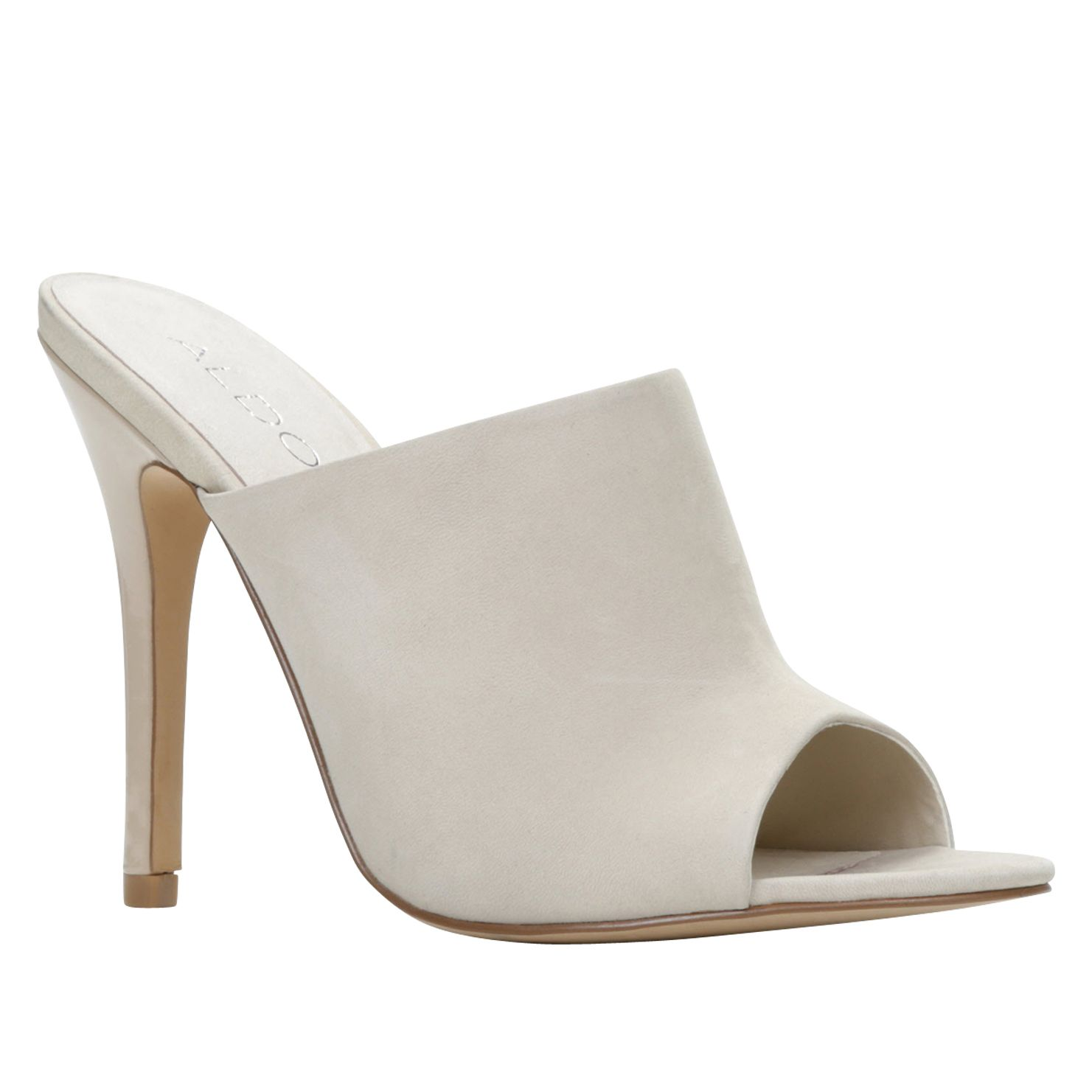 Hamaliel peep toe high heel sandals