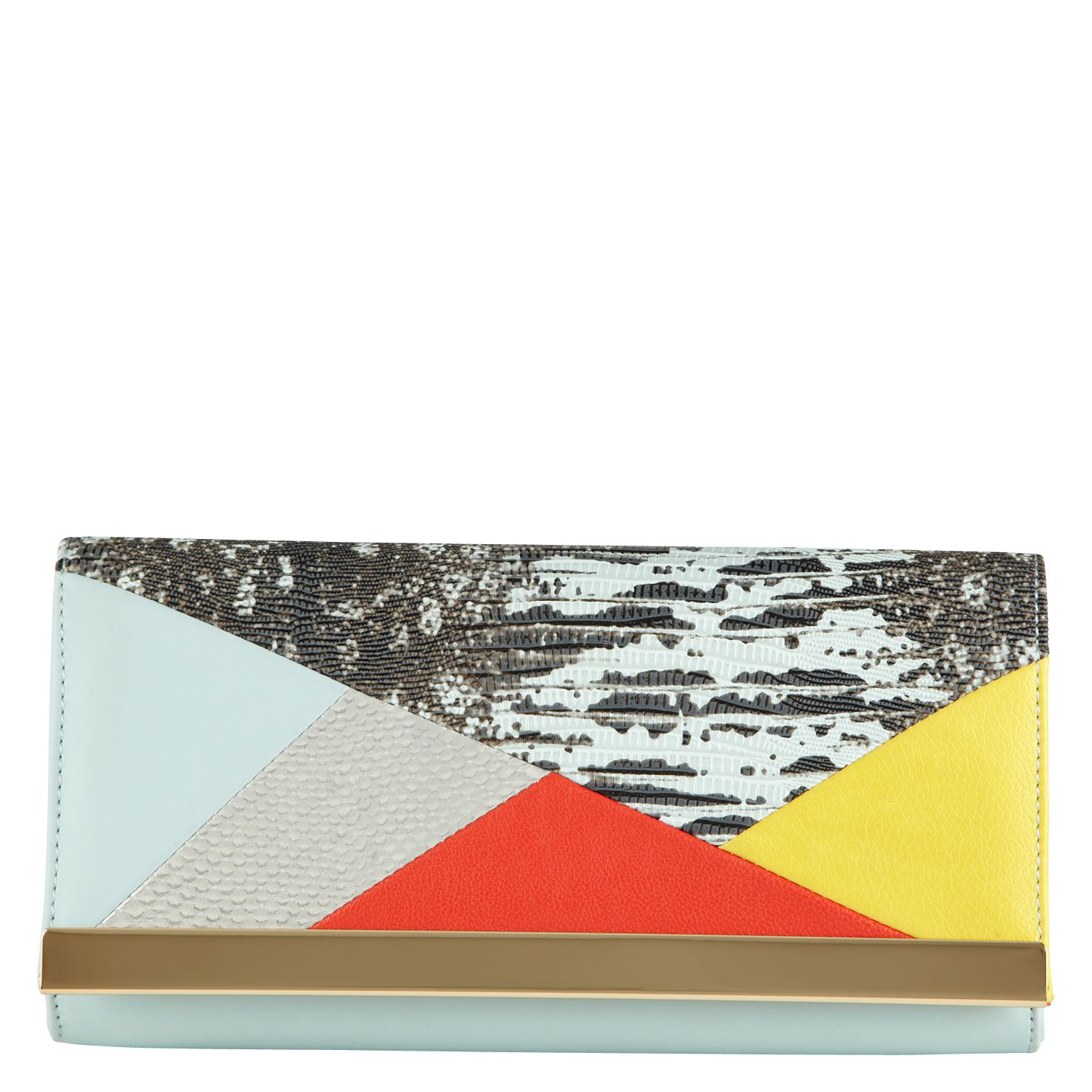 Faceroce clutch bag