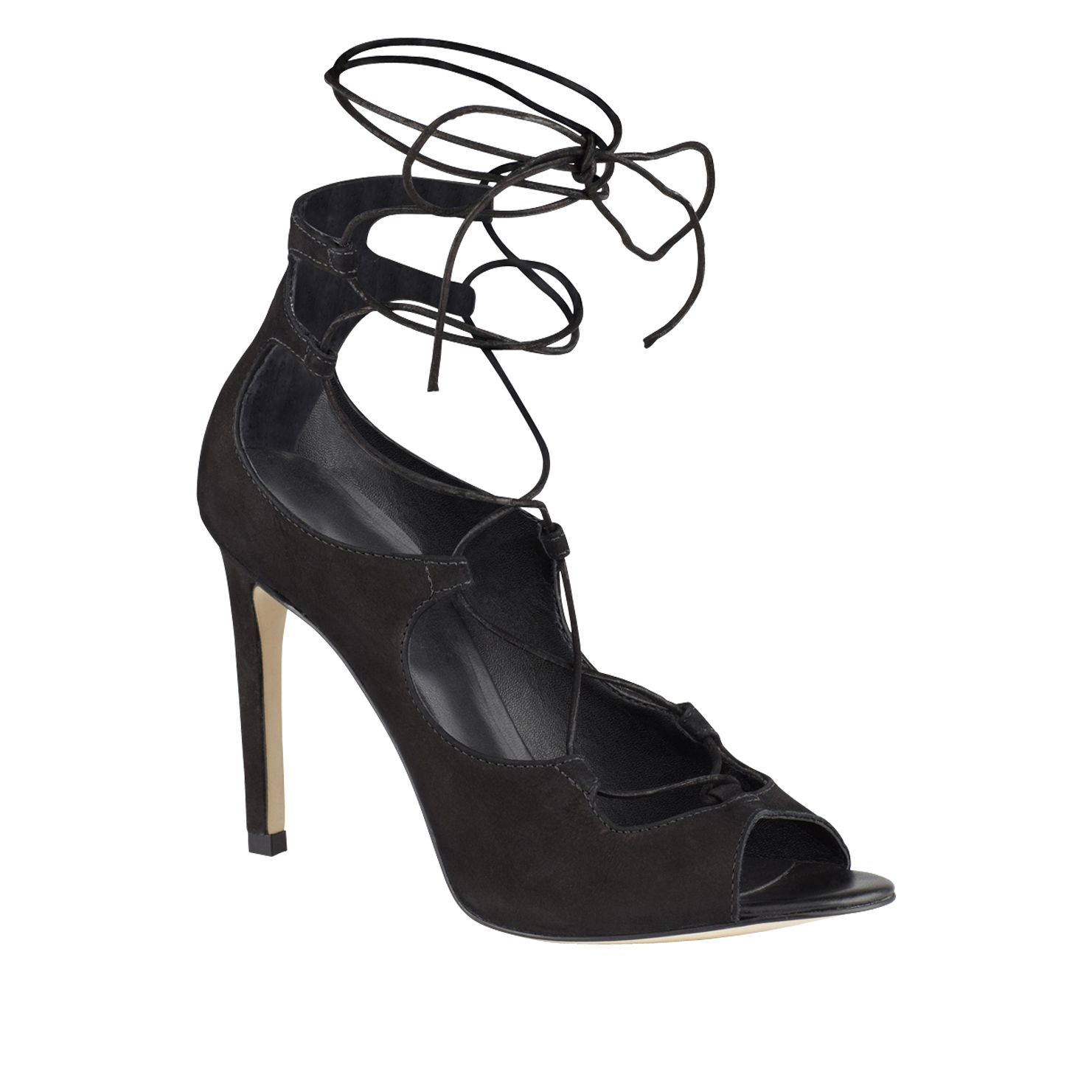 Cezarine lace-up court sandals