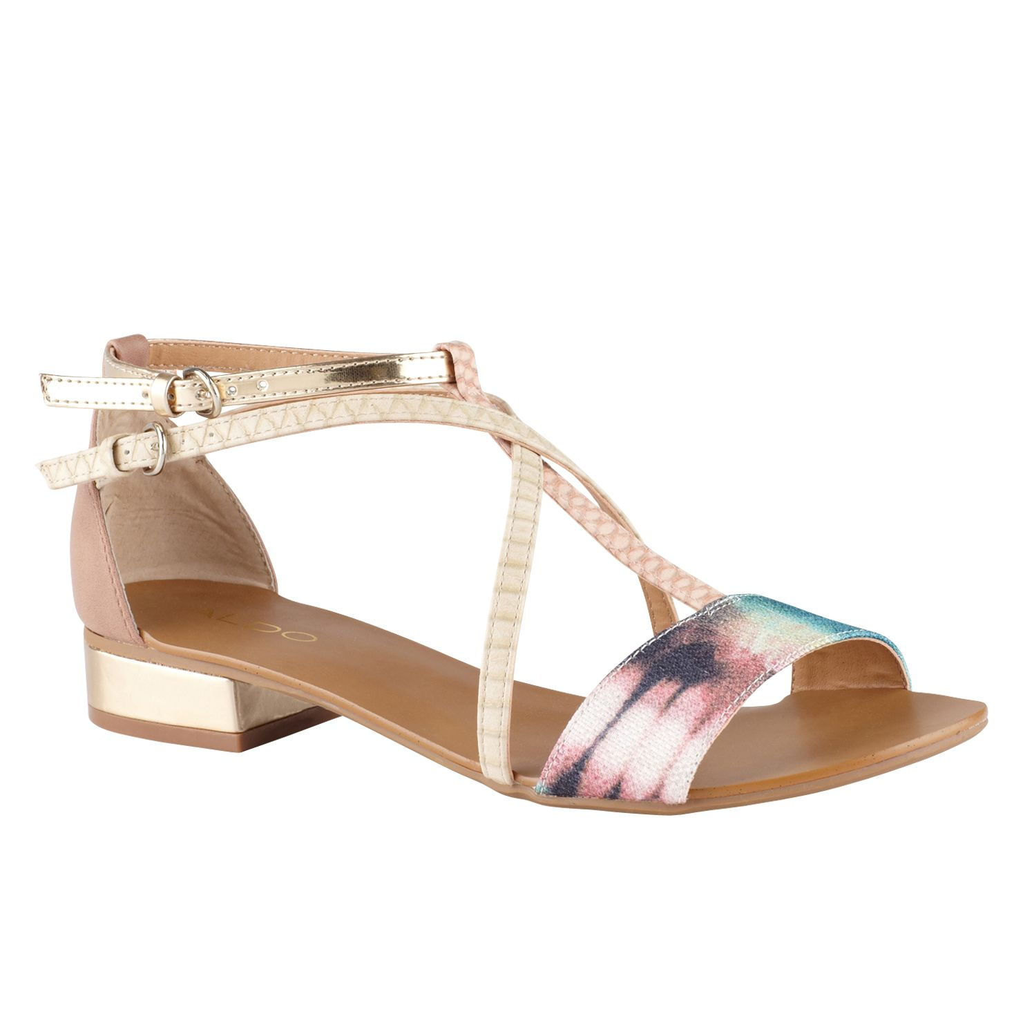 Kedearien strapped block heel sandals