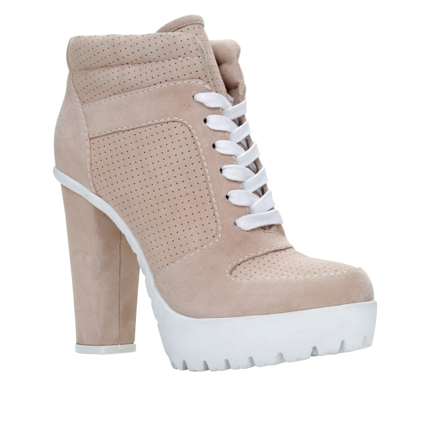 Nemyra platform lace up shoes