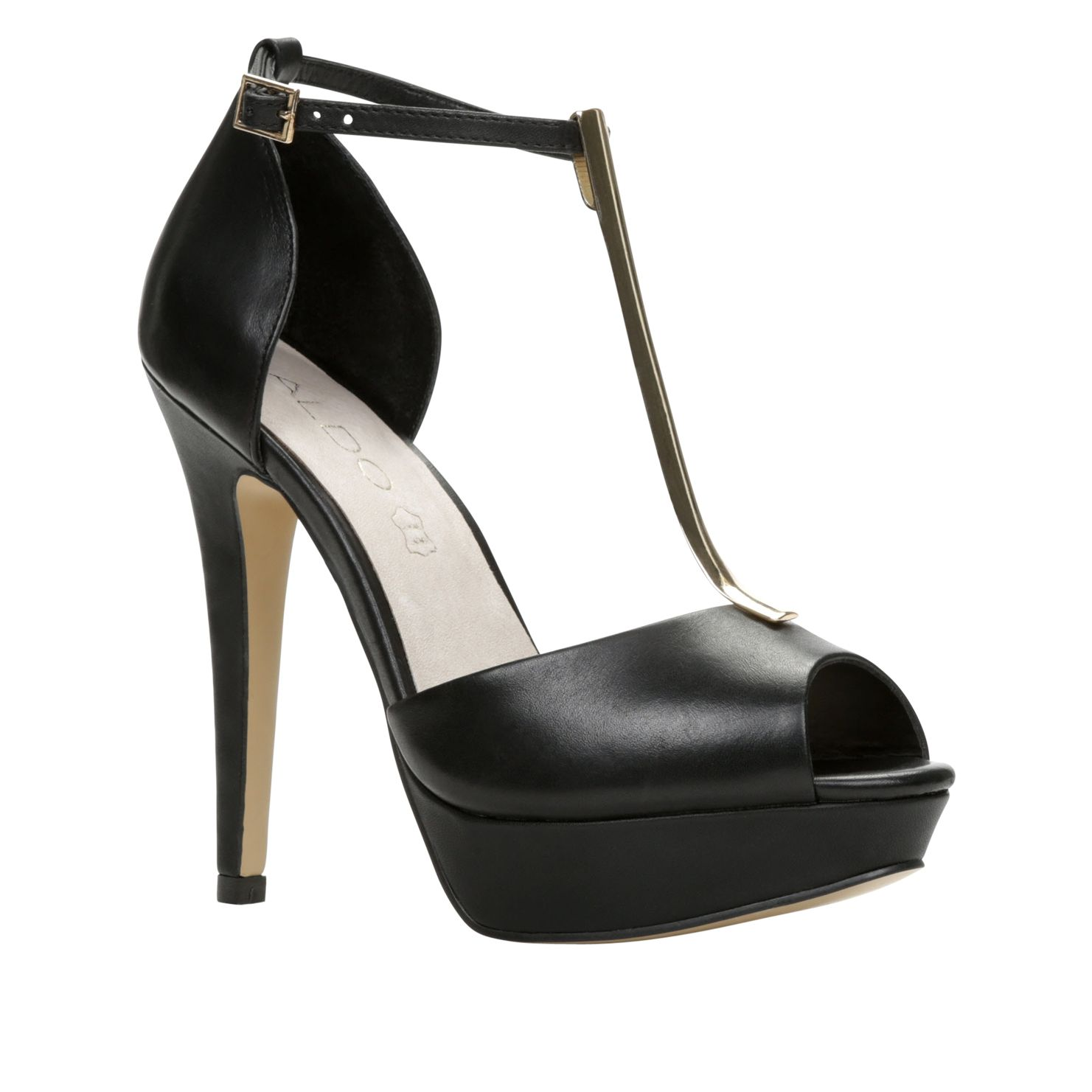 Valturva peep toe platform shoes