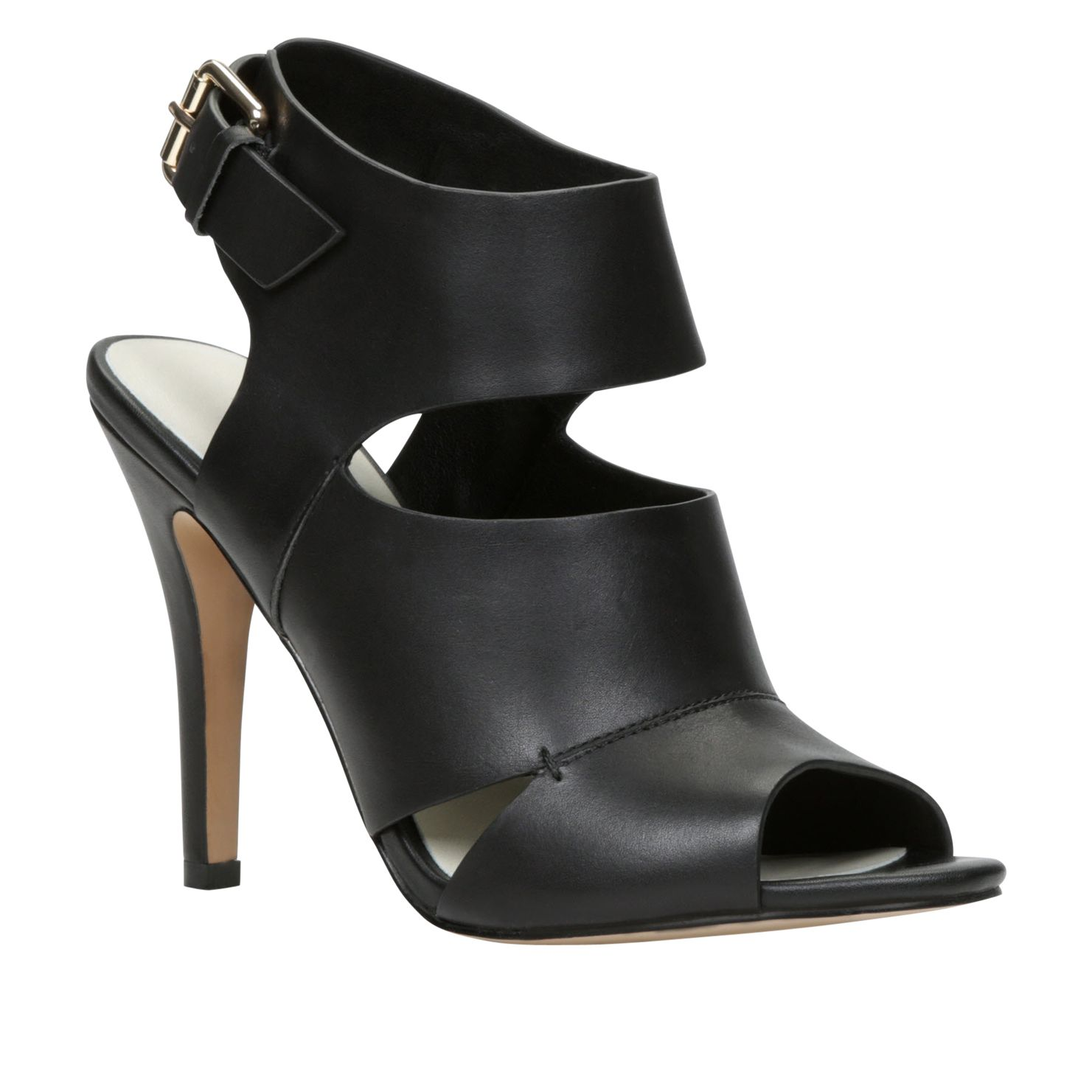 Kaoellan peep toe court shoes