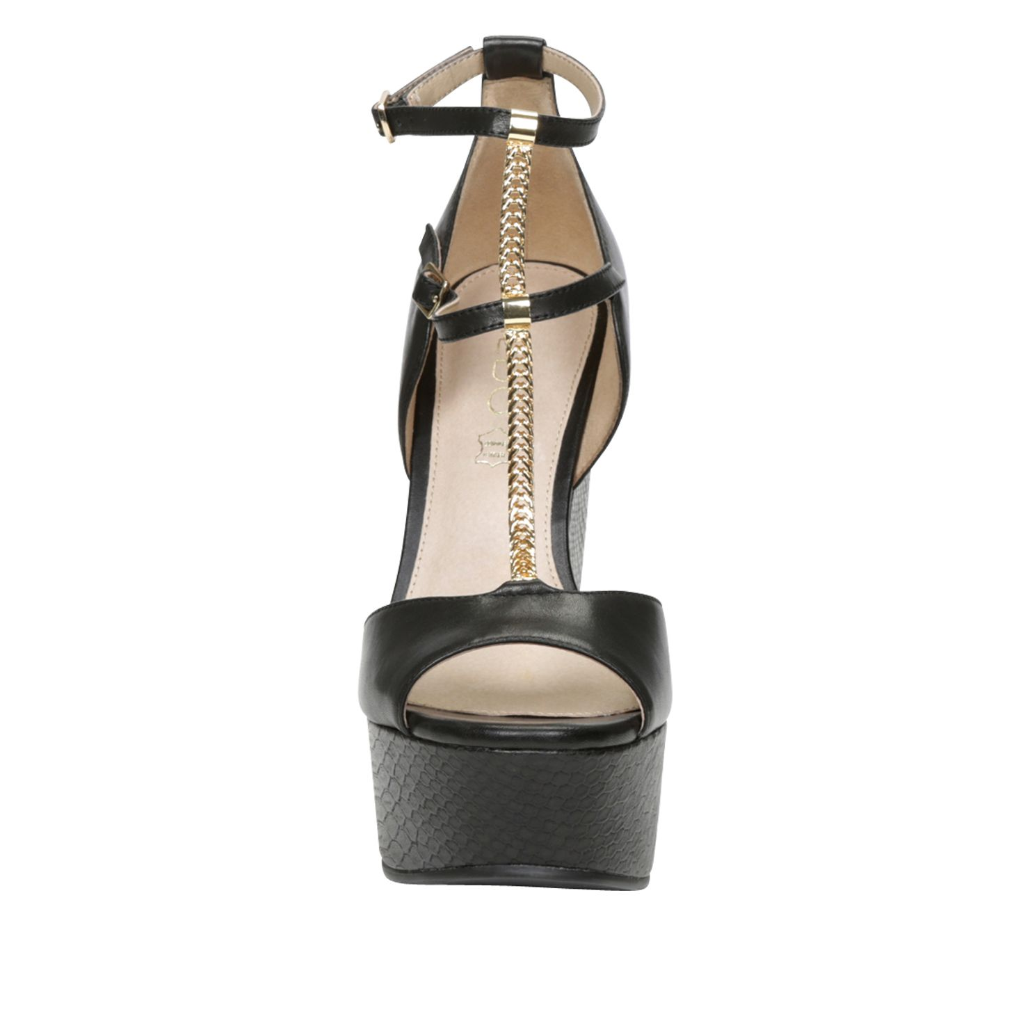 Chiesina peep toe wedge sandals