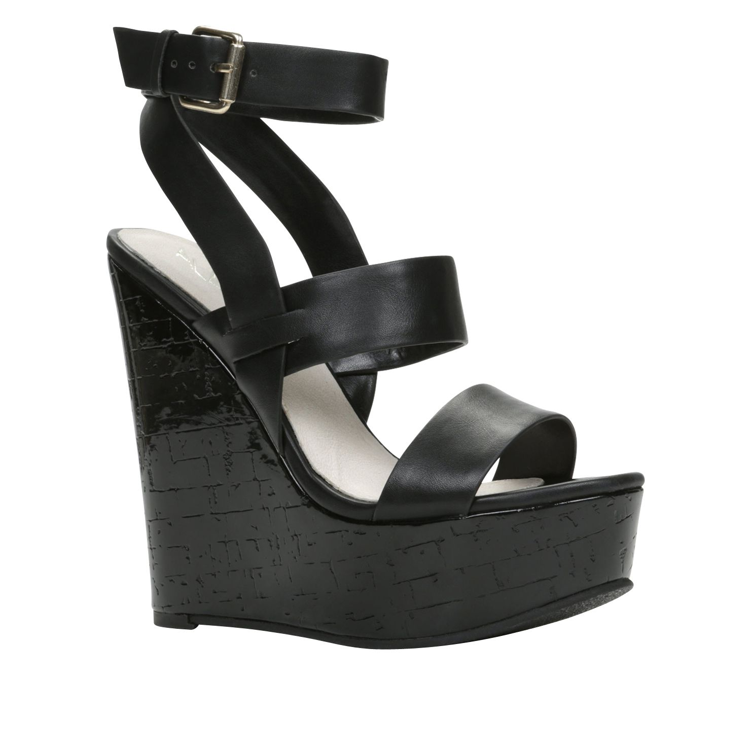 Birwen ankle strap wedge sandals