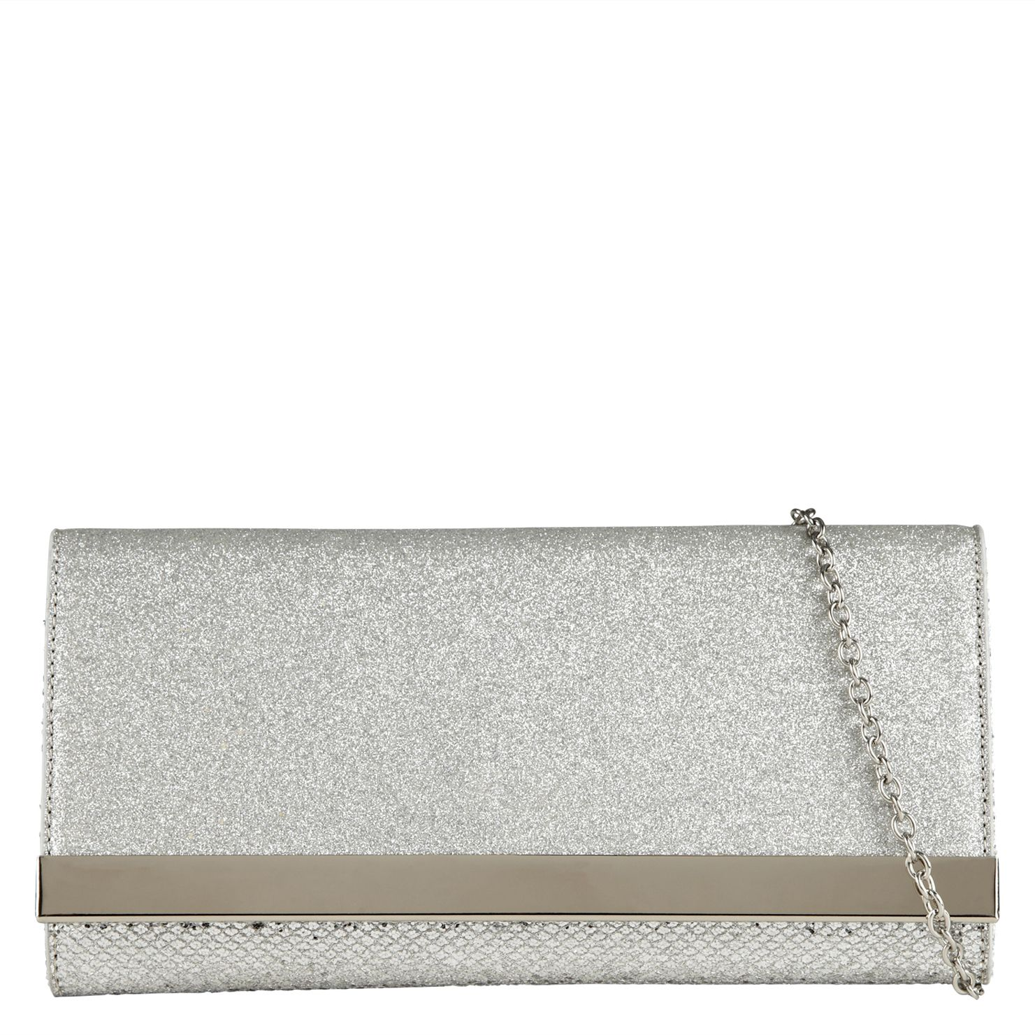 Husul metallic clutch bag