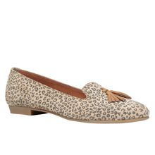Nissim almond toe flat pumps