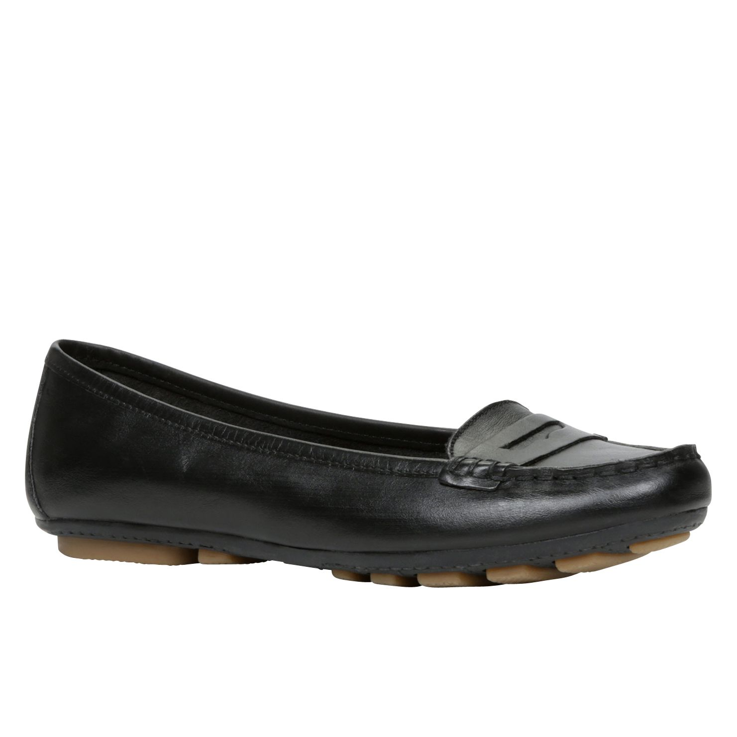 Kata round toe loafer shoes
