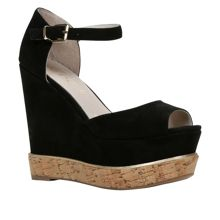 Haelille ankle strap wedge sandals