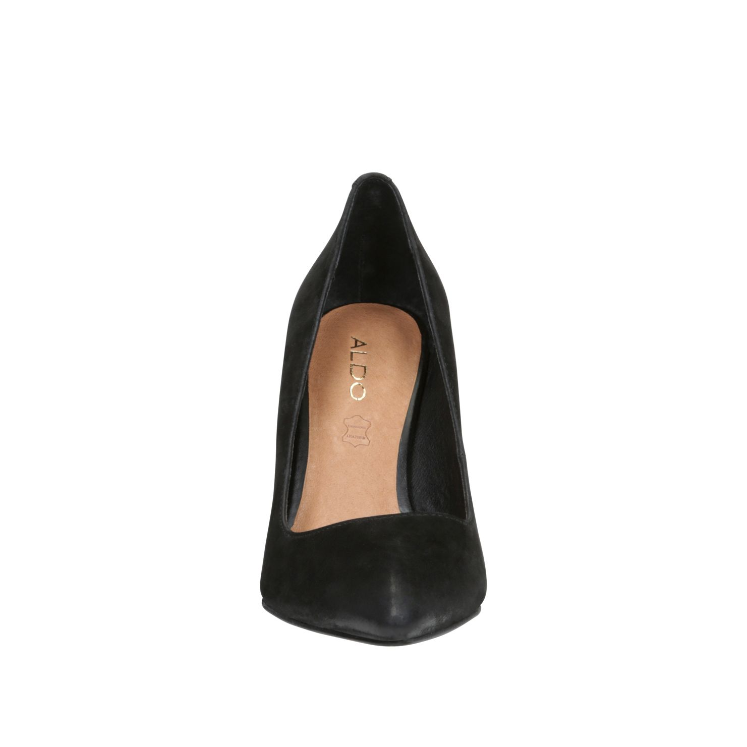 Fragola almond toe court shoes