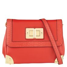 Strube metail detail cross body bag