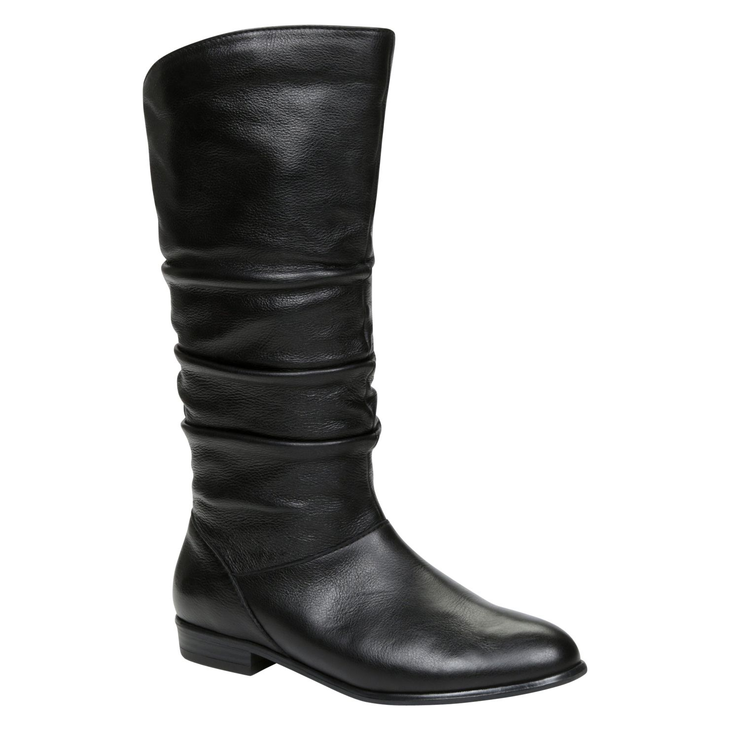 Althea round toe knee boots