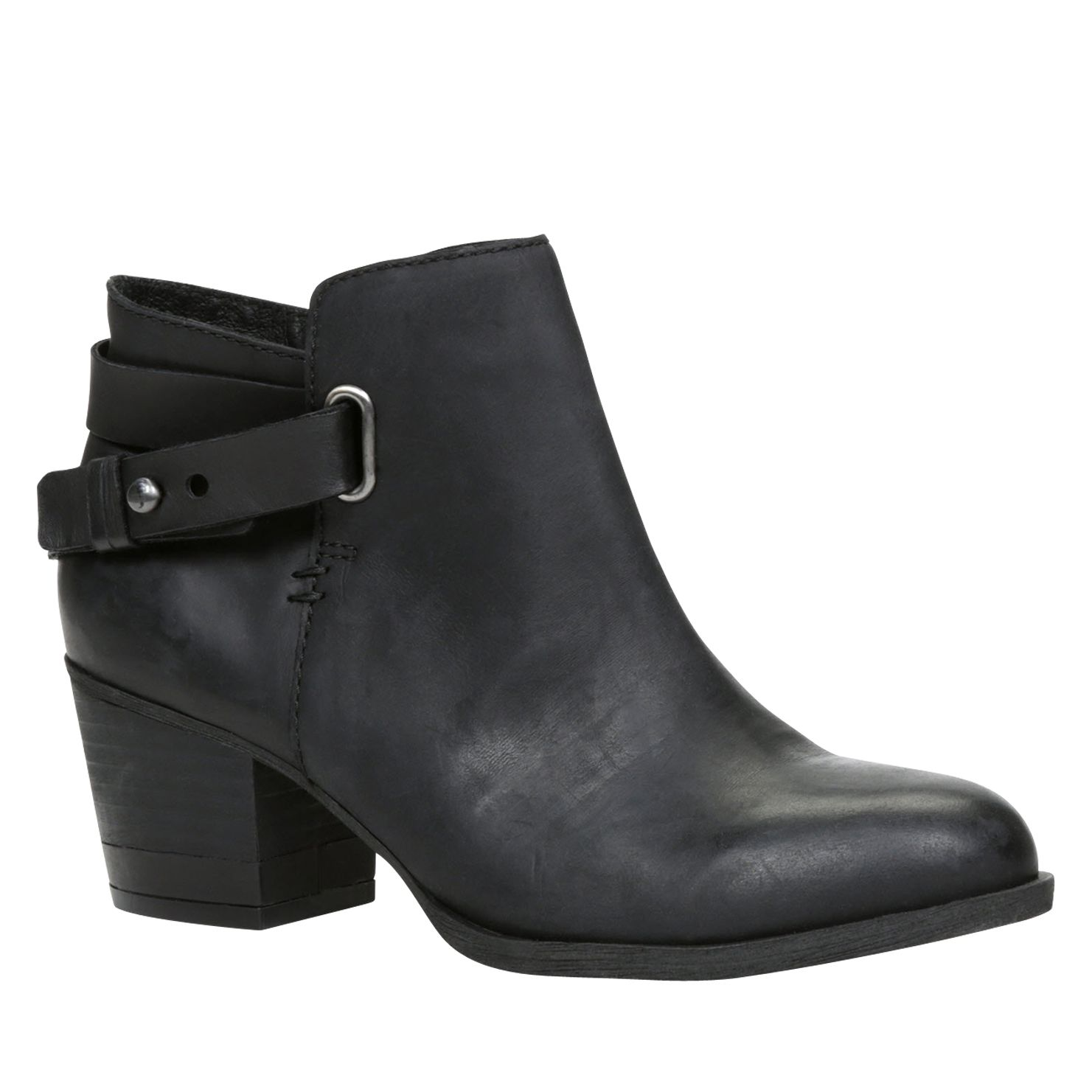 Allie block heel ankle boots