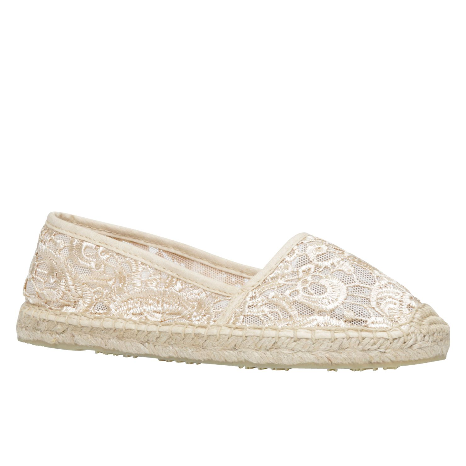 Agrano round toe espadrille shoes