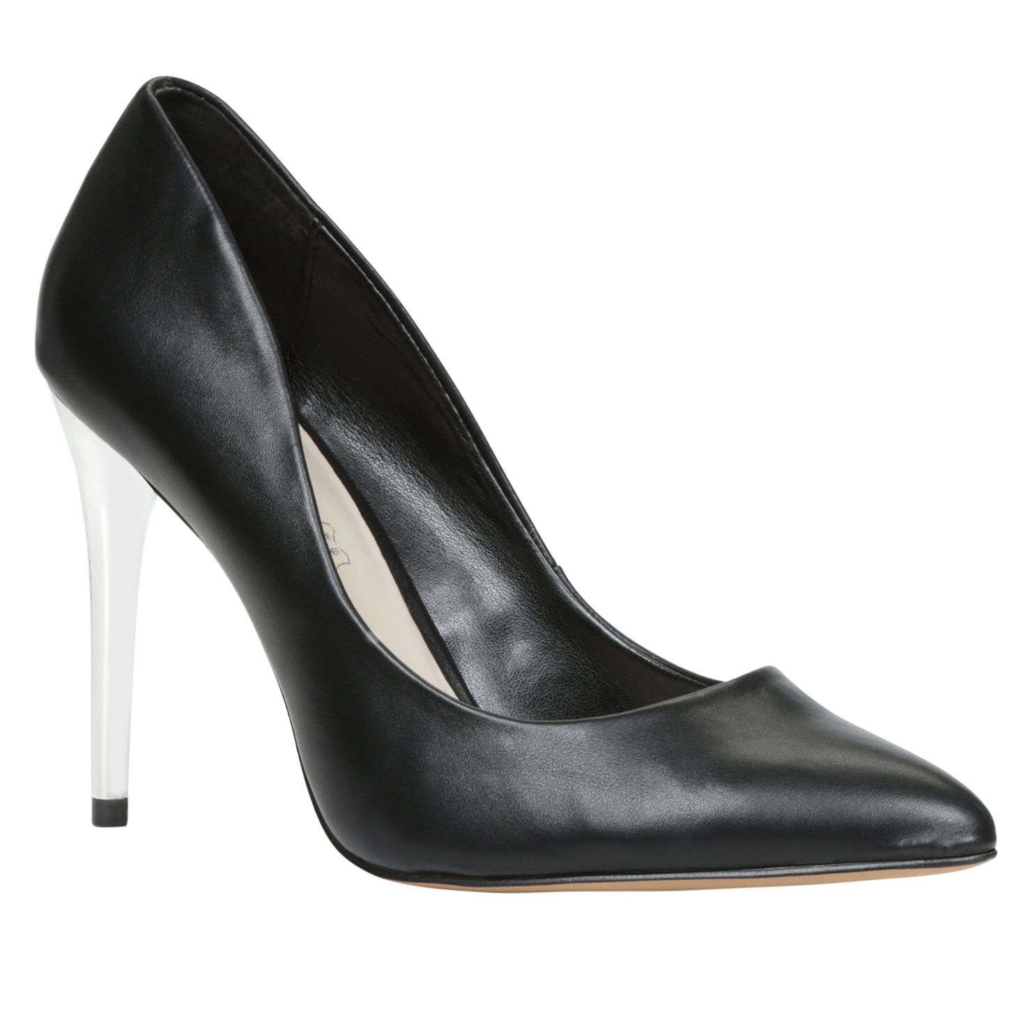 Meskill pointed toe court shoes