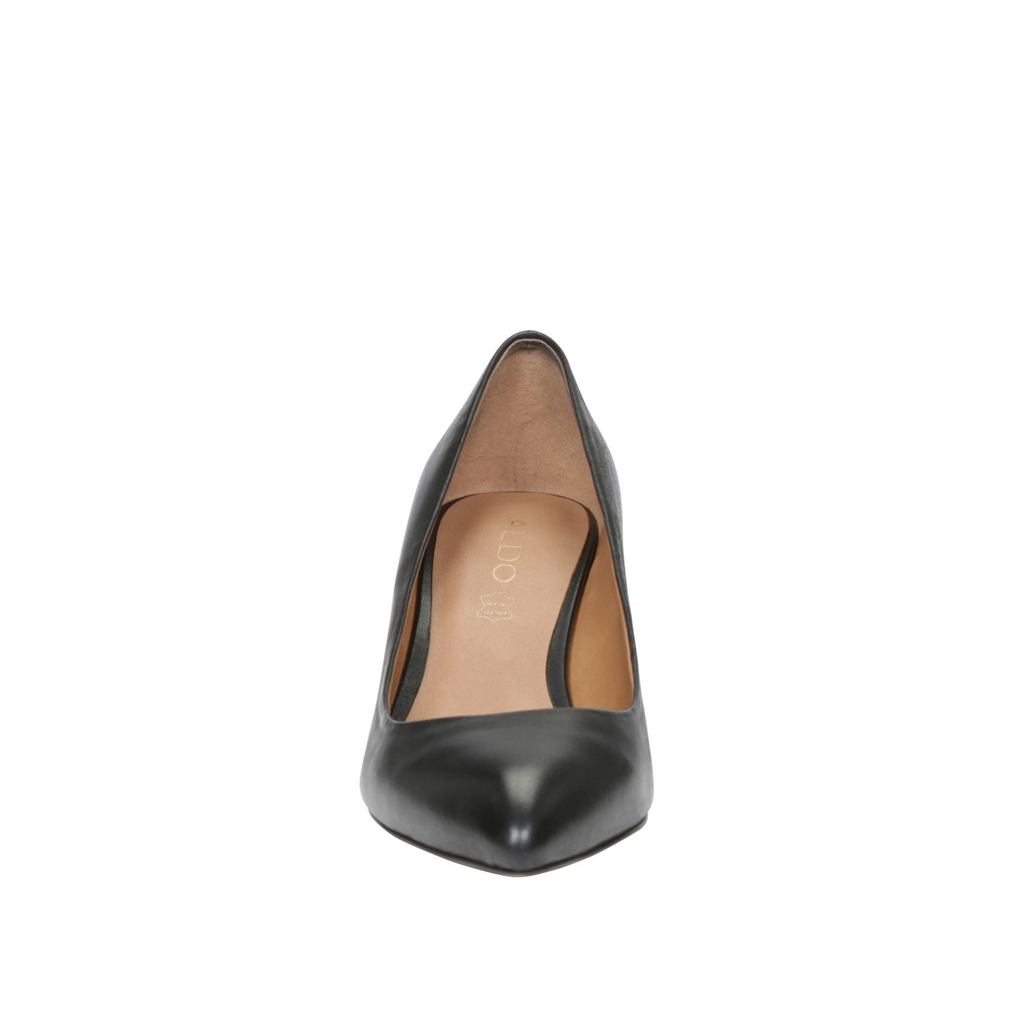 Pecchi almond toe mid heel shoes