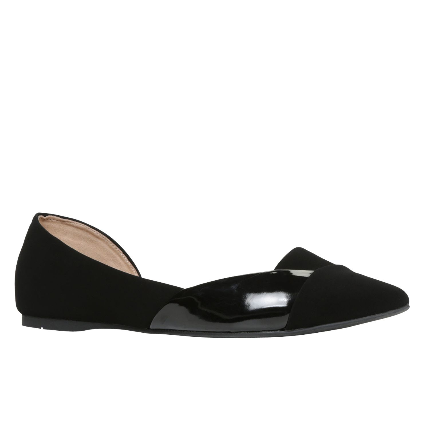 Zaci pointed toe ballerina shoes