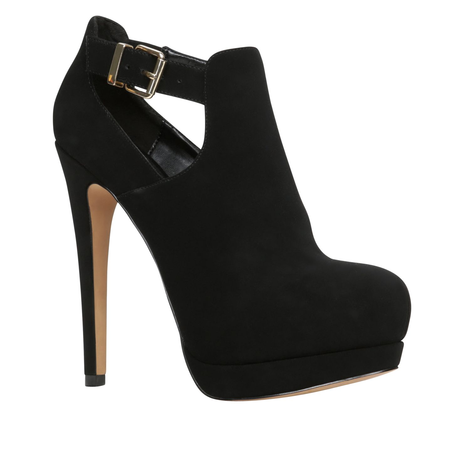 Elesta platform court shoes