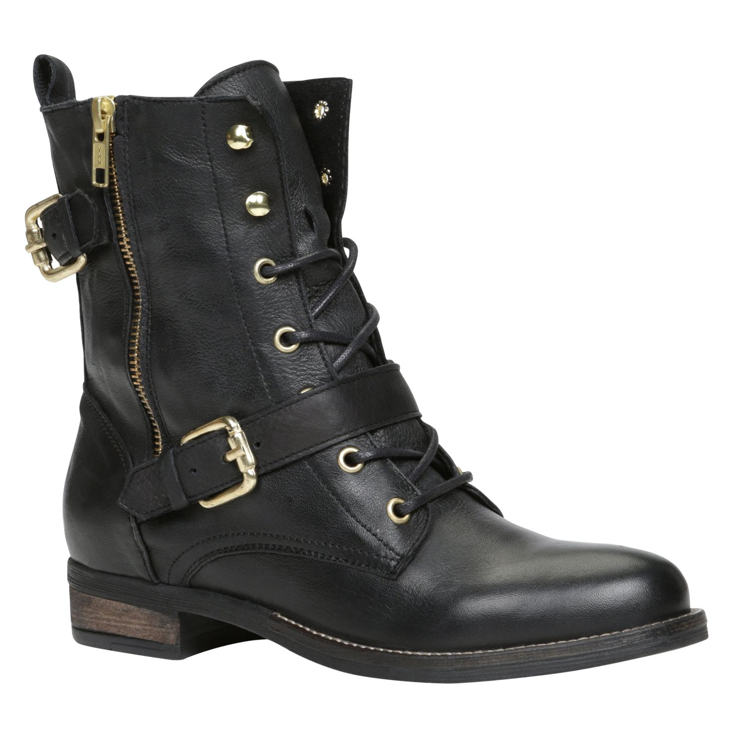 Cypria lace up ankle boots