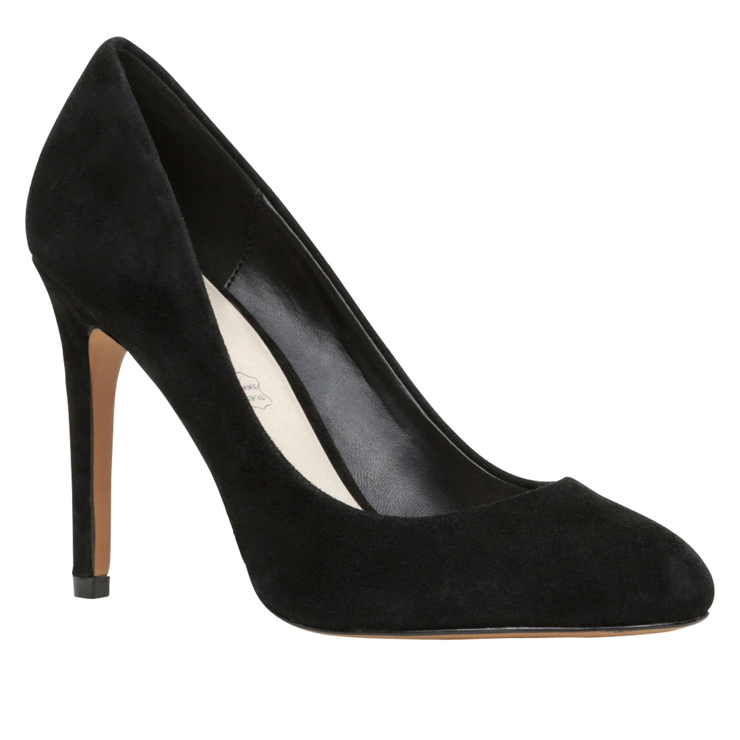 Sebec almond toe court shoes