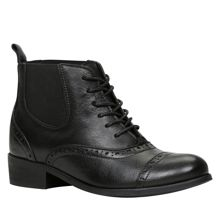 Halker lace up ankle boots
