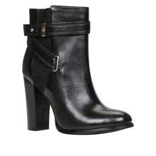 Lampley block heel ankle boots