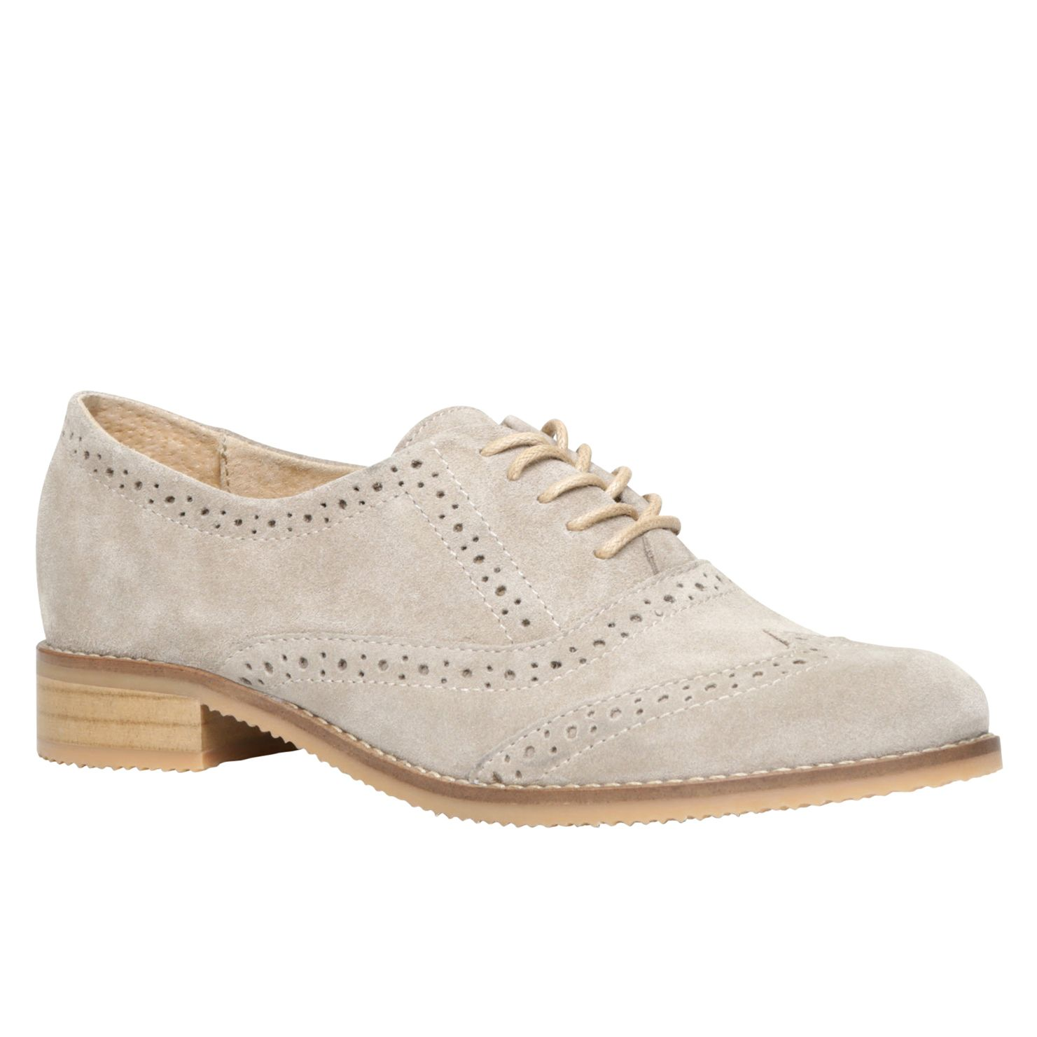 Mirerari block heel brogue shoes