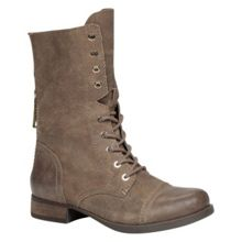 Brooklyn round toe lace up boots