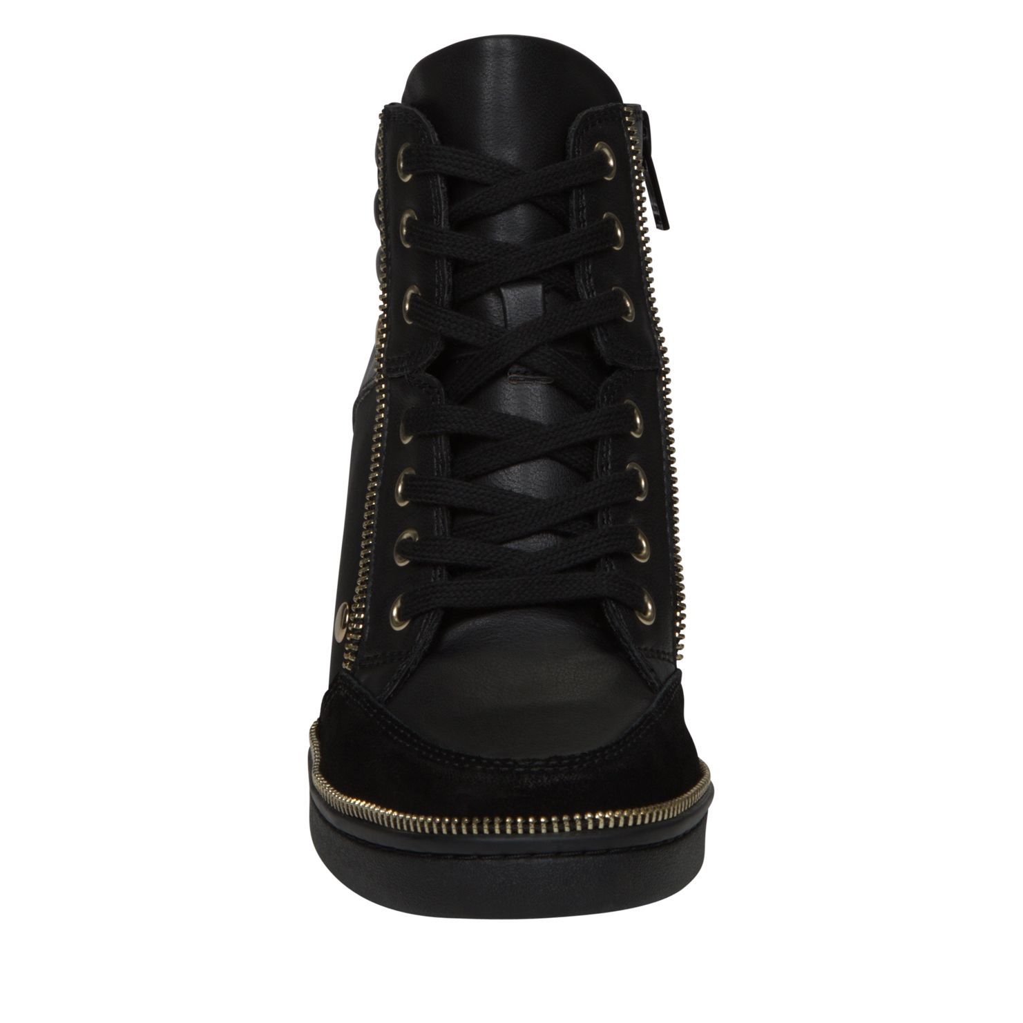Ciambave wedge lace up trainers