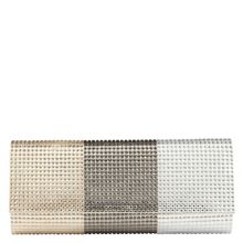 Luvian sparkle clutch bag
