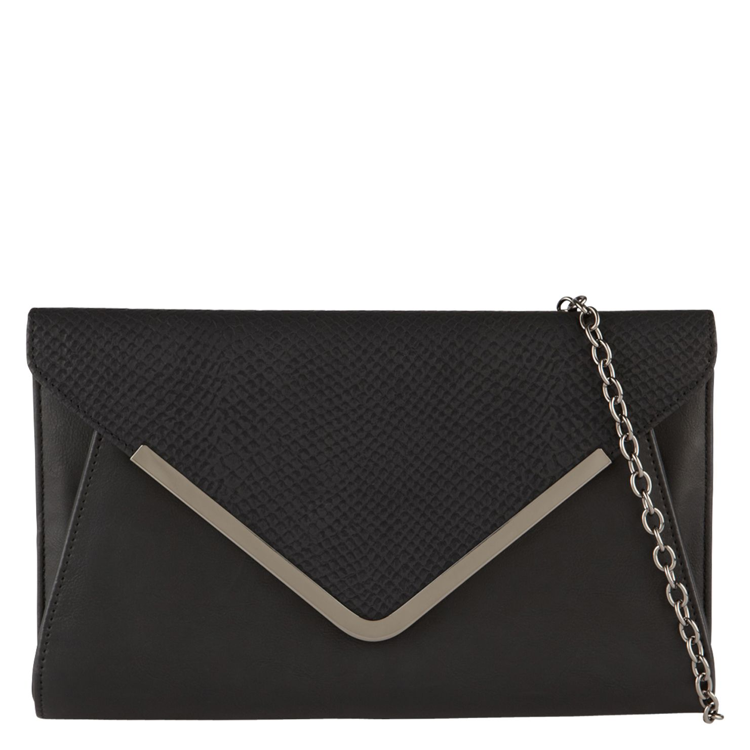 Derolja envelope clutch bag