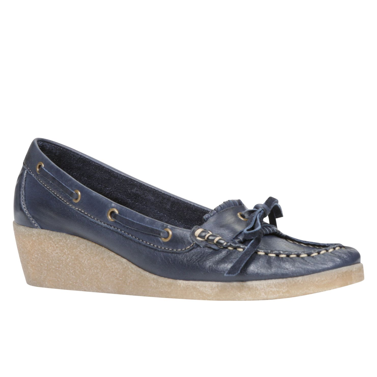 Renee loafer wedge shoes