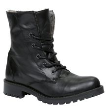 Hindall lace up calf boots