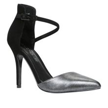 Vallio pointed toe court shoes