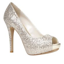 Nean Peep Toe Court Shoes