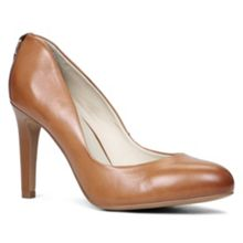 Nydeassi almond toe court shoes