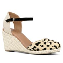 Aleaven espadrille wedge shoes