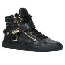 Aldo Fasnacht hightop lace up trainers
