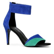 Deserto ankle strap court shoes