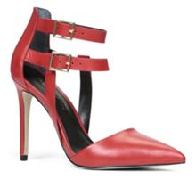 Maltby pointed toe court shoes