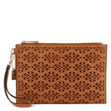 Daves perforated clutch bag