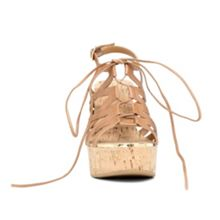 Mcconkie lace up wedge sandals
