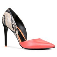 Premier pointed toe court shoes