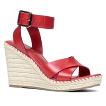 Nalewet ankle strap rope wedge sandals