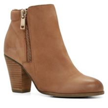 Janella Zip Ankle Boots