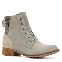 Saydda strap detail lace-up ankle boots