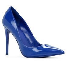 Stessy high heel courts with pointy toe
