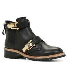 Viradien round toe ankle boot