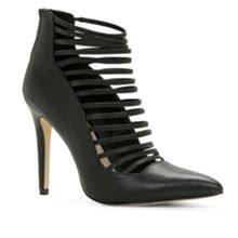 Astevia high heel caged shoe boots